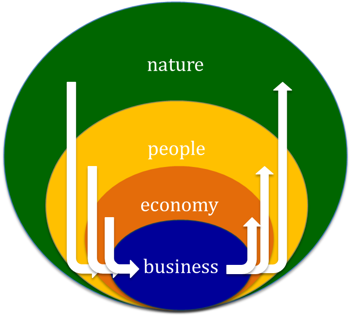 nature of a business A written document describing the nature of the business, the sales and marketing strategy, and the financial background, and containing a projected profit and loss statement - entrepreneur.
