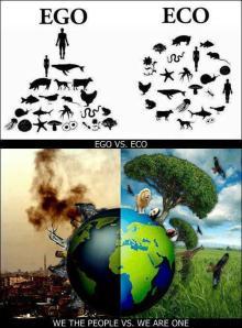 Ego versus Eco
