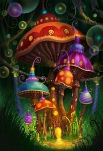 easter mushroom