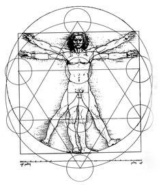 sacred geo Leonardo